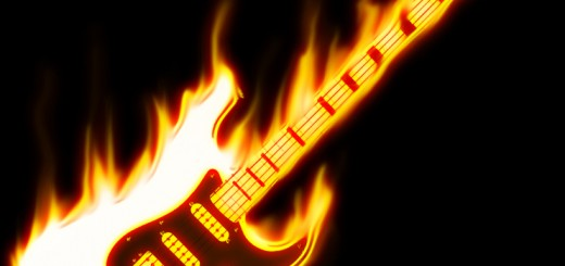 guitar_on_fire_by_wallaberto-d353pzk